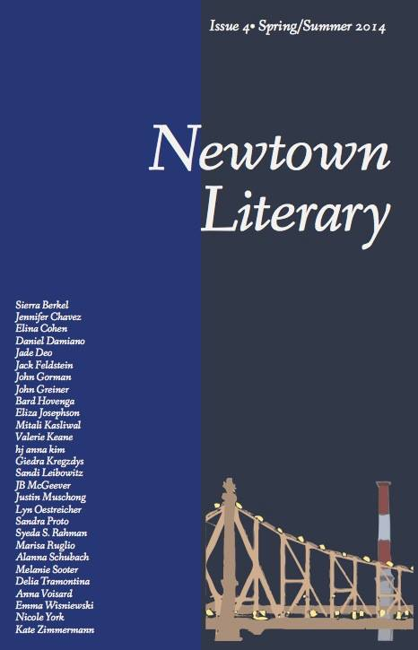 Newtown Literary Journal Spring Summer 2014 Cover
